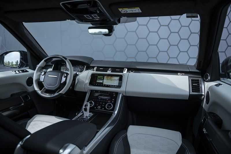 "Land Rover Range Rover Sport P575 SVR Carbon SVR motorkap + Drive Pro Pack + Panoramadak + 22"" + Stoelkoeling + Head-Up + Stuurwielverwarming + Carbon interieur afbeelding 4"