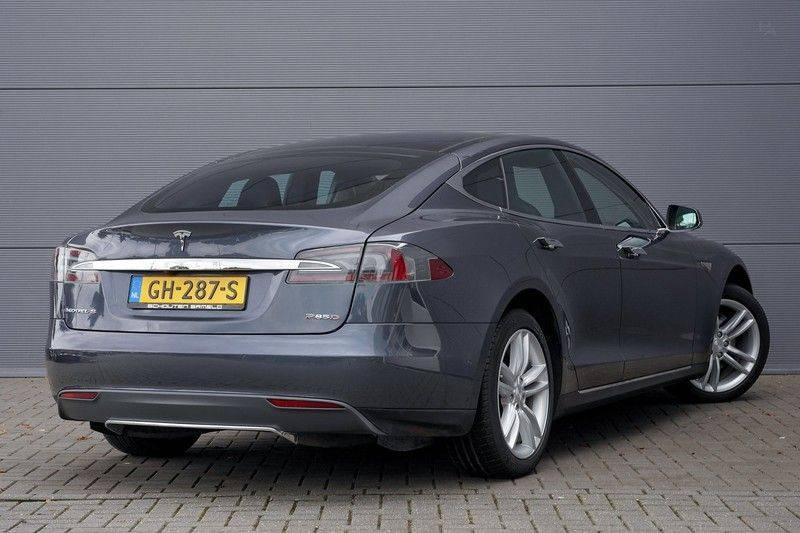 Tesla Model S 85D Performance 700pk Free Charging Pano Leer afbeelding 11