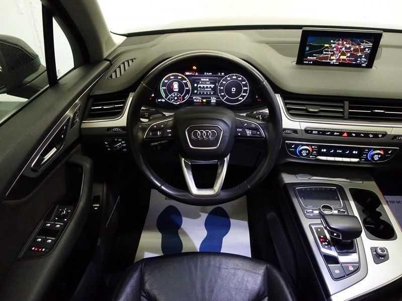 Audi Q7 3.0 TDI E-tron Quattro 374pk S-line Premium Autom- Pano, Virtual Cockpit, Bose, Leer, Camera afbeelding 8