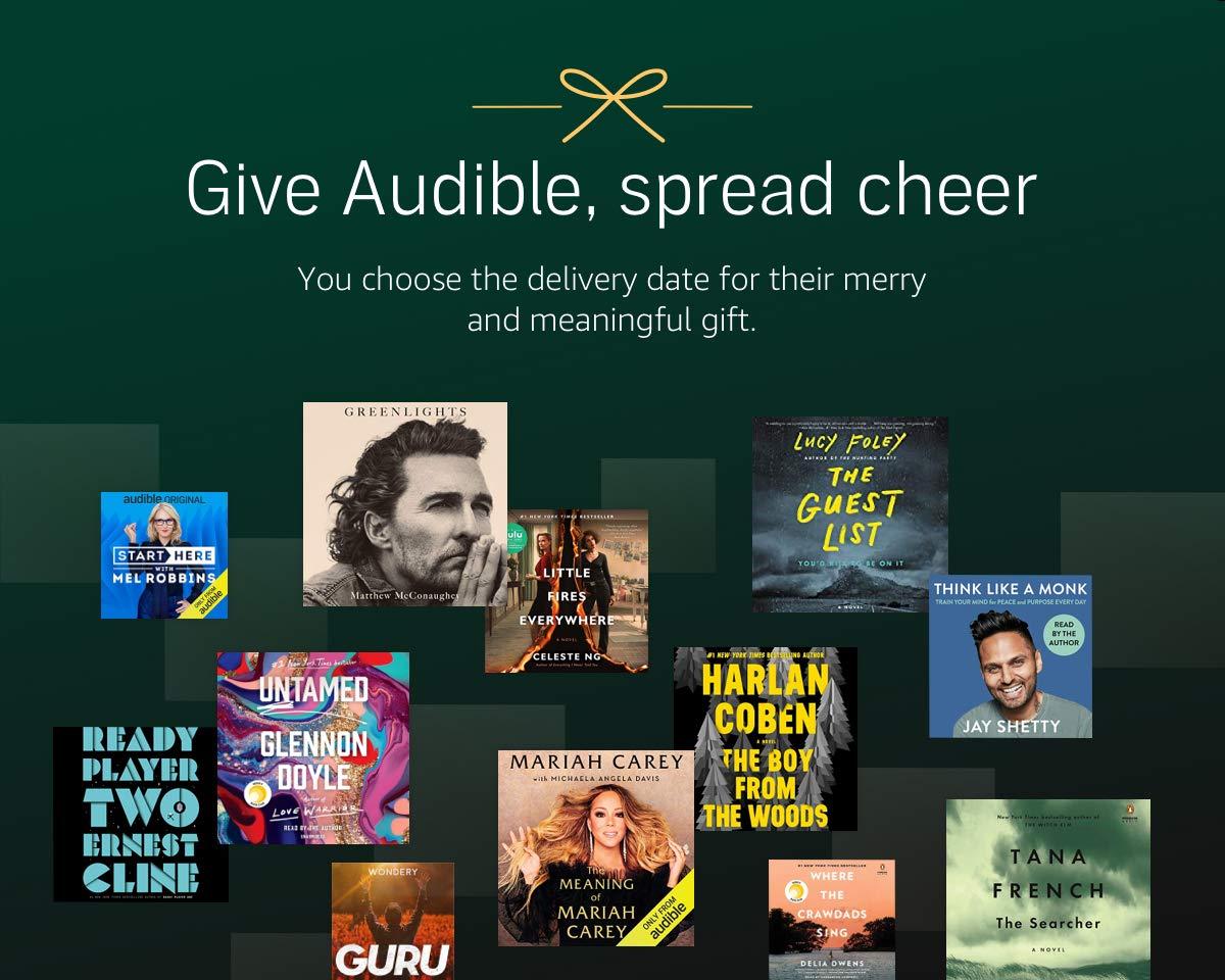the amazon audible membership