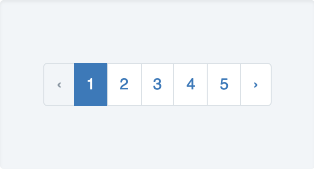 Pagination example 1