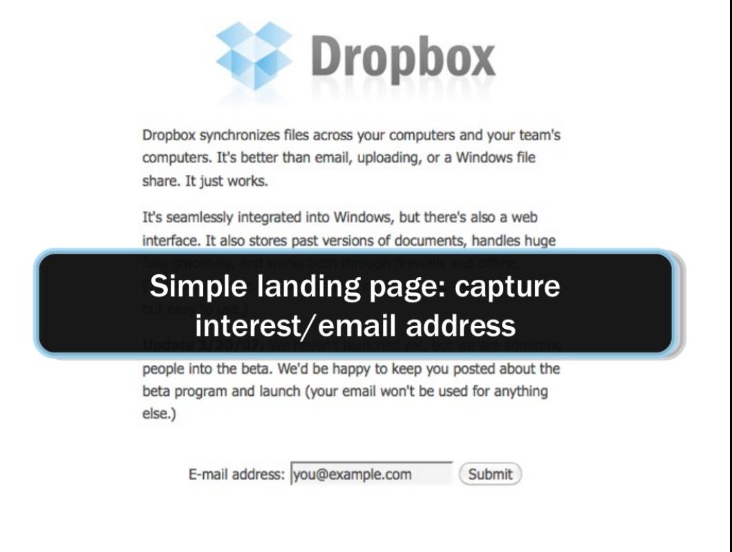 Dropbox mvp