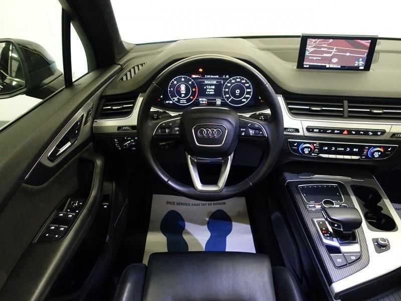 Audi Q7 3.0 TDI e-tron 374pk Quattro Sport S-Line Aut- Panodak, Bose, Leer, Camera, Virtual Cockpit afbeelding 5
