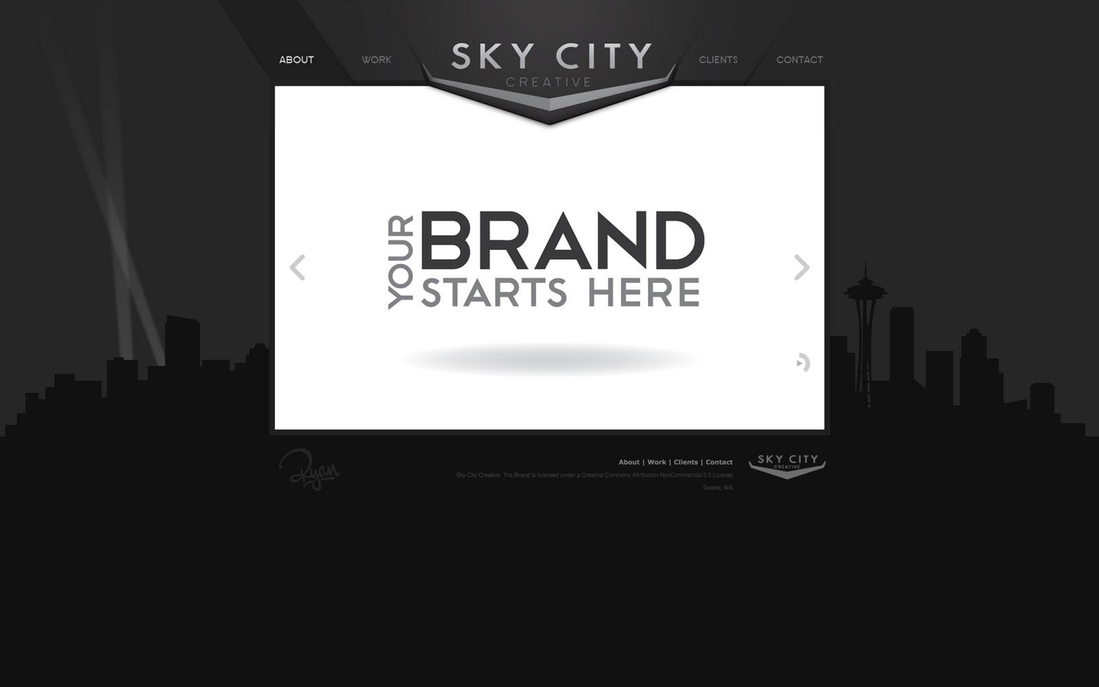 Sky City Creative Web Design