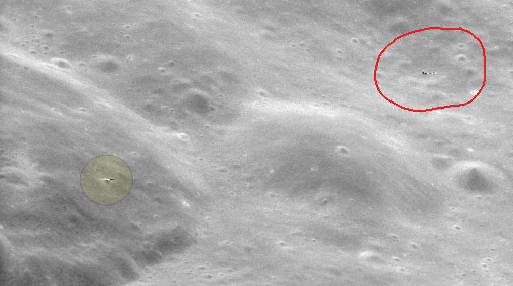 Was an 'alien missile' captured in Apollo 11 mission photo?