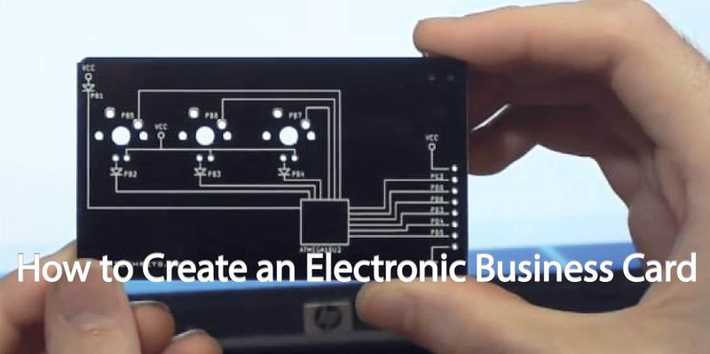 How to Create an Electronic Business Card