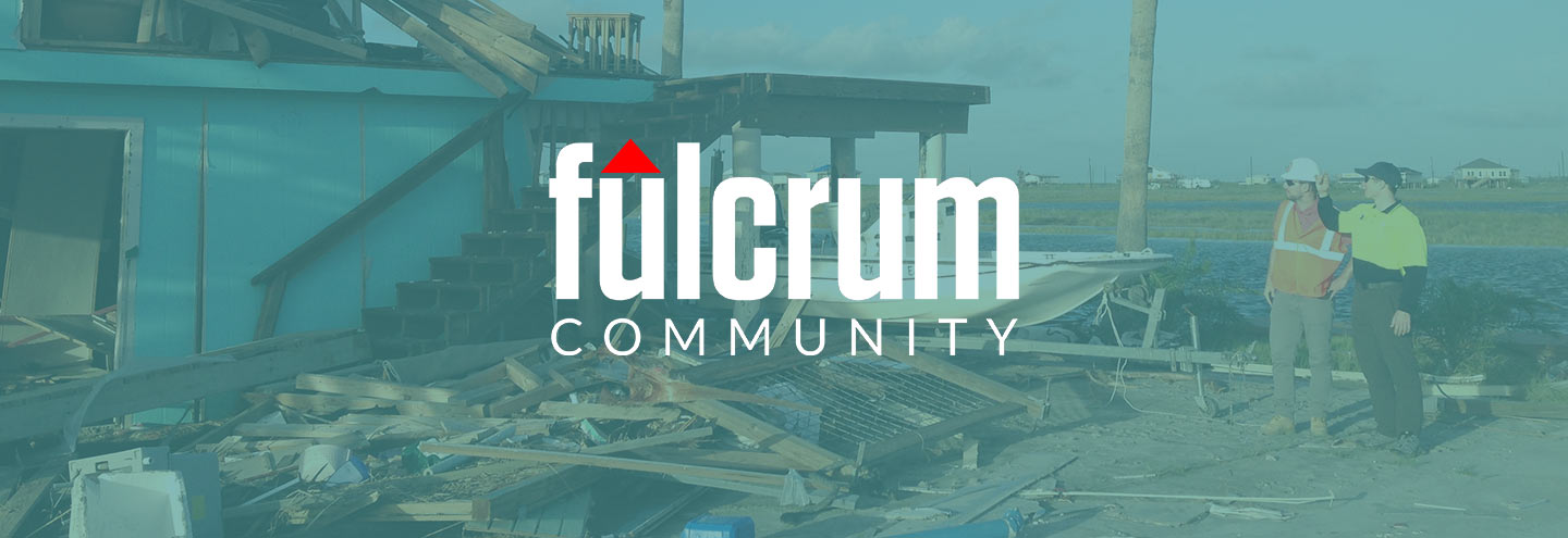 Universities Assessing Hurricane Damage Using Fulcrum Community