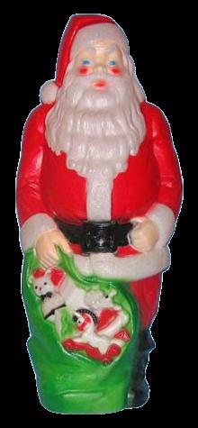 Giant Merry Christmas Santa photo
