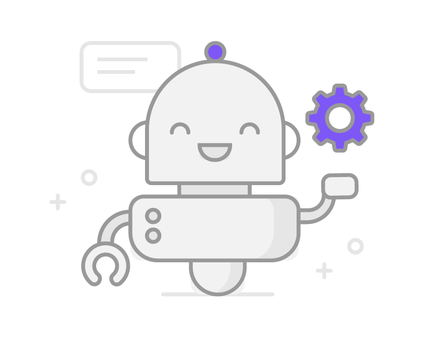 Ícone representando robô do VoiqX