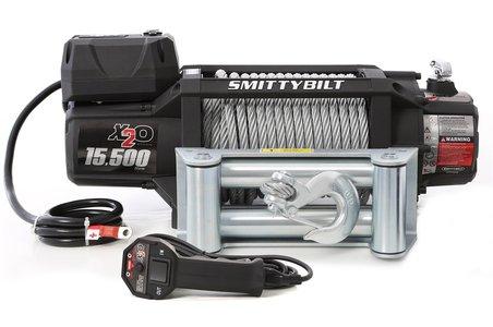 Smittybilt Gen2 X2O 15500 Waterproof Winch 97515 15500 lb winch