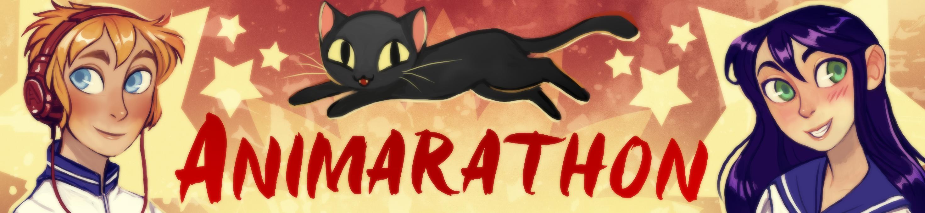 Animarathon banner by Michelle Czajkowski!