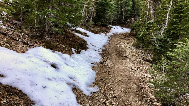 Snow on the PCT