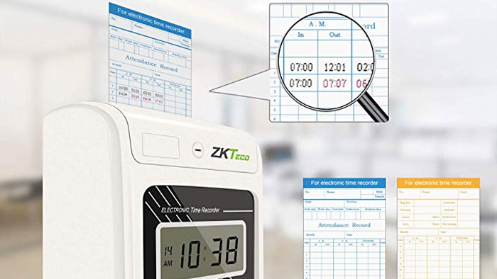ZKTeco PH601N time card