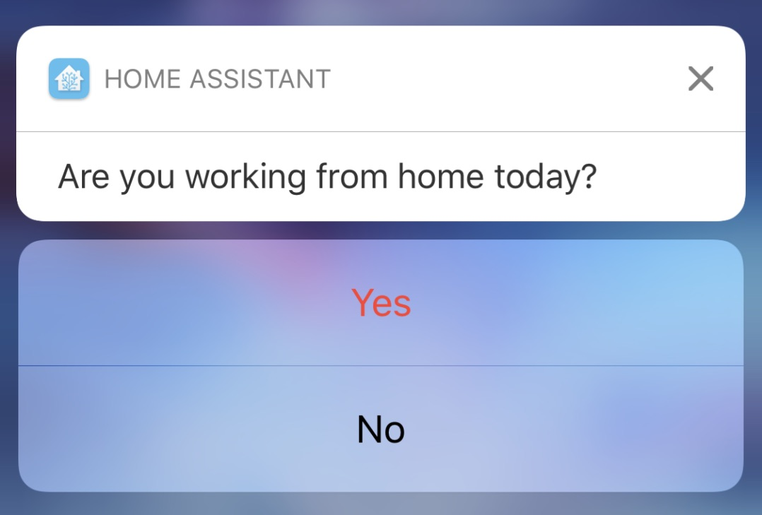 Using Actionable Notifications In Home Assistant Network Hobo