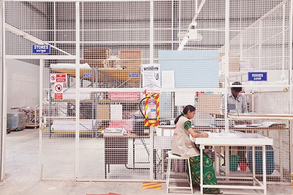 apparel manufacturing factory