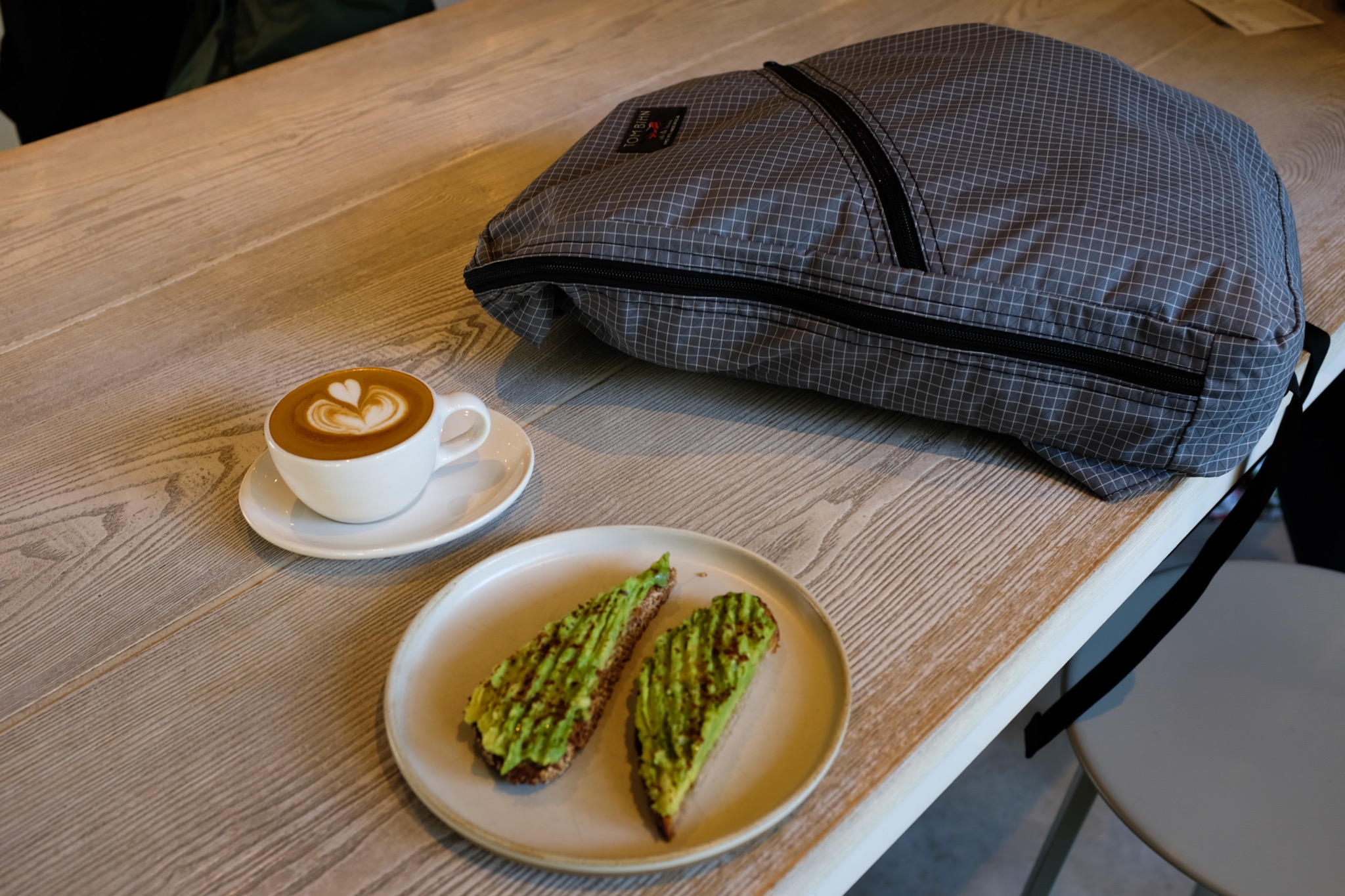 At Blue Bottle Coffee in Aoyama, Tokyo