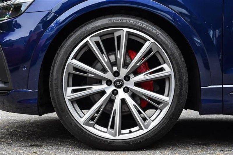 Audi Q8 55 TFSI S-LINE+23INCH+PANO.DAK+360CAM+BLACKLOOK afbeelding 14