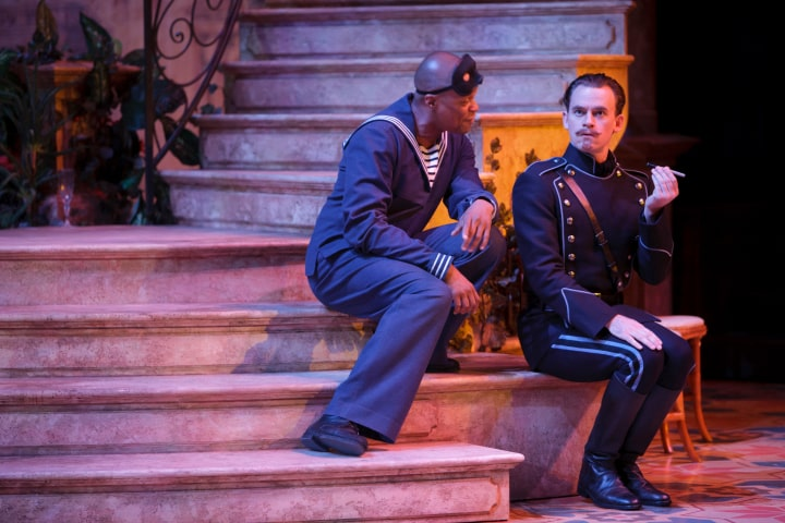 """Robert Thomson's lighting design for the production of """"Much Ado About Nothing"""" at the Stratford Festival"""