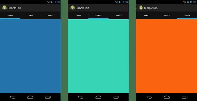 การสร้าง Tab บน Android ด้วยการใช้ TabHost และ ActionBar Tab
