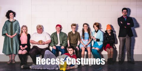 DIY Costume Guides for Ashley Spinelli, Gretchen Grundler, Gus Griswald, King Bob, Mikey Blumberg, The Ashleys, TJ Detweiler, Vince Lasalle