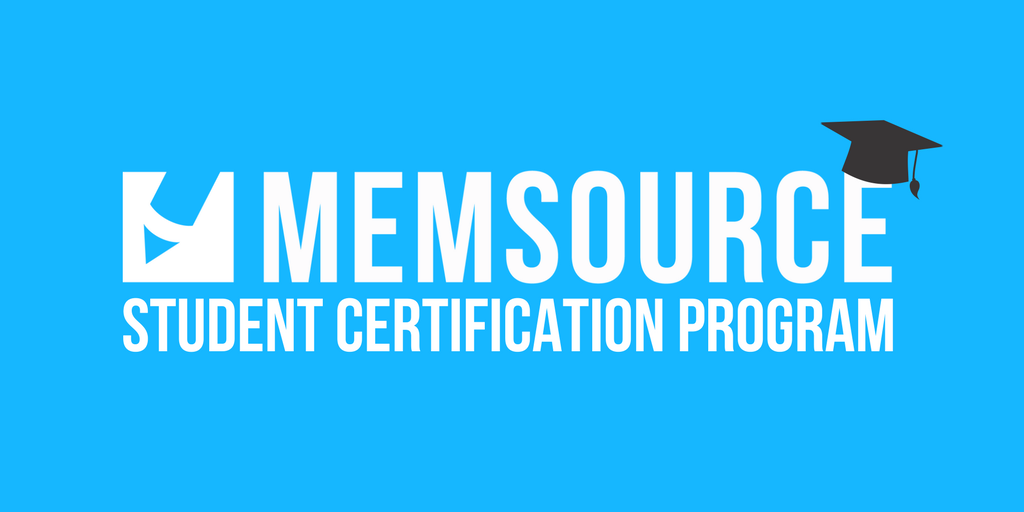 Memsource Student Certification Program