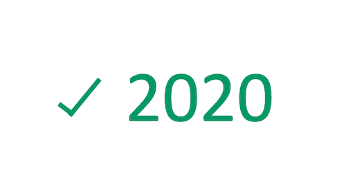 2020 is done