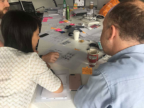 Planning and prioritisation workshop at Farfetch