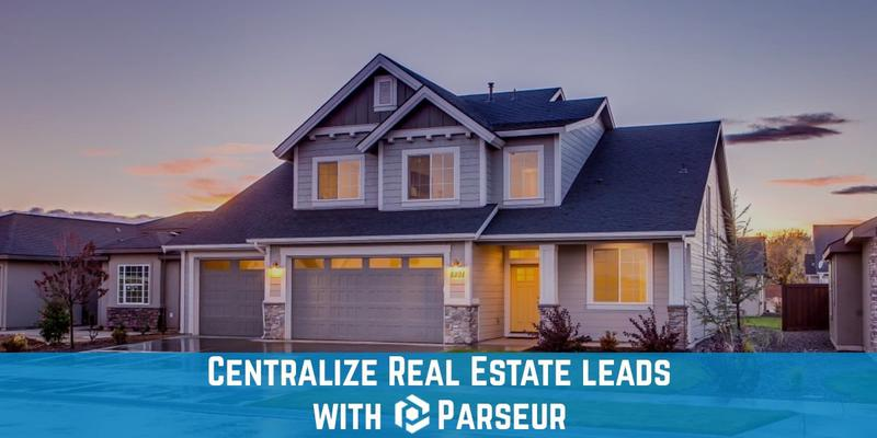 Extract Real Estate leads with an email parser cover image