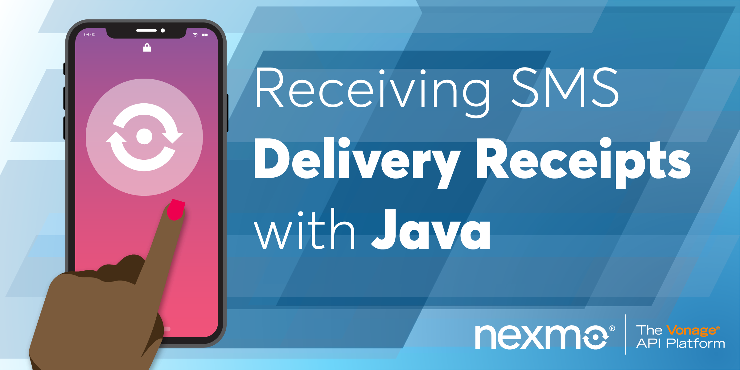 Receiving SMS Delivery Receipts with Java and Spark