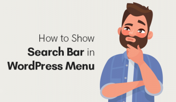 Thumbnail of Add a Search Bar to WordPress Menu in 1 Minute