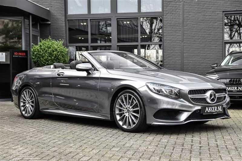 Mercedes-Benz S-Klasse S500 CABRIO AMG-LINE+BURMESTER+HEAD-UP NP.201K afbeelding 25