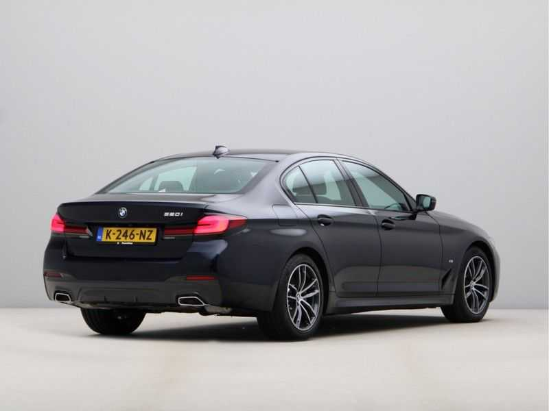 BMW 5 Serie 520i High Exe M-Sport Aut. afbeelding 8