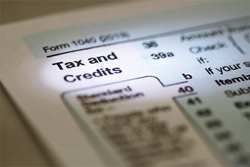 Earned income tax credit banner.