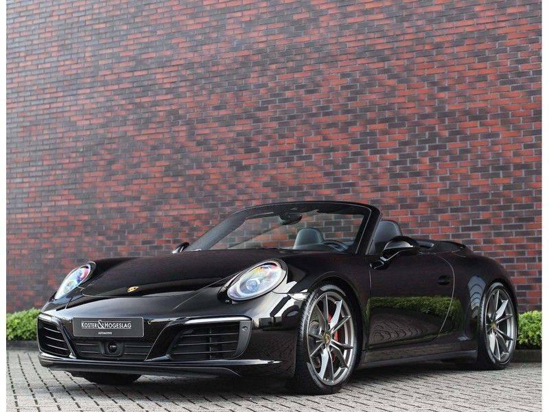 Porsche 911 Cabrio Carrera 4S *ACC*Bose*Chrono*Vierwielbesturing*Camera*Vol!* afbeelding 11