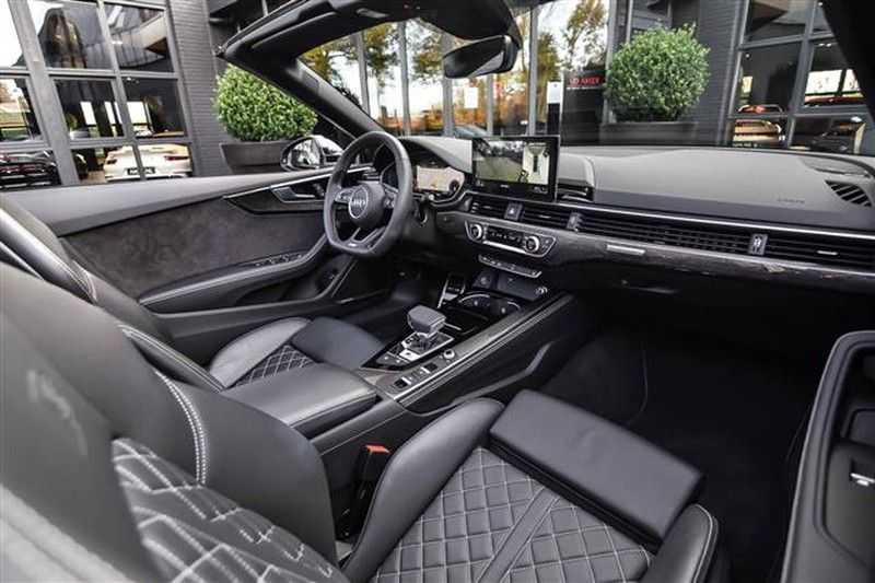 Audi S5 CABRIO HEADUP+SPORTDIFF+TOPVIEW NP.132K afbeelding 3