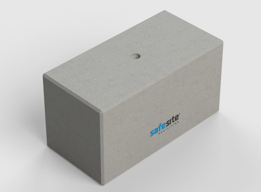Concrete Lego Block LG7