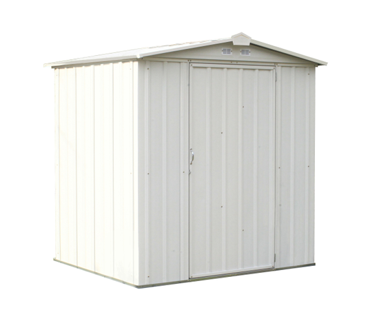 6x5 EZEE Shed in Cream