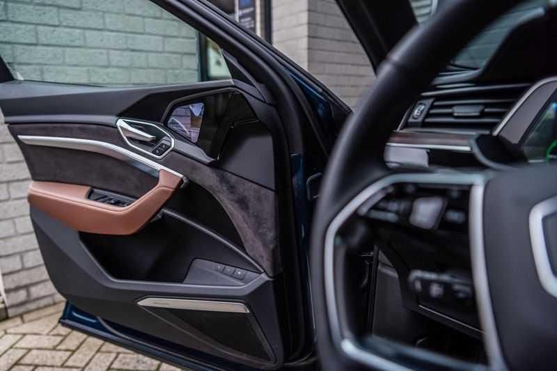 Audi e-tron 55 quattro advanced Pro Line Plus, 408 PK, 4% Bijtelling, Luchtvering, Surround View, Stad/Tour Pakket, B&O, EX. BTW!! afbeelding 19