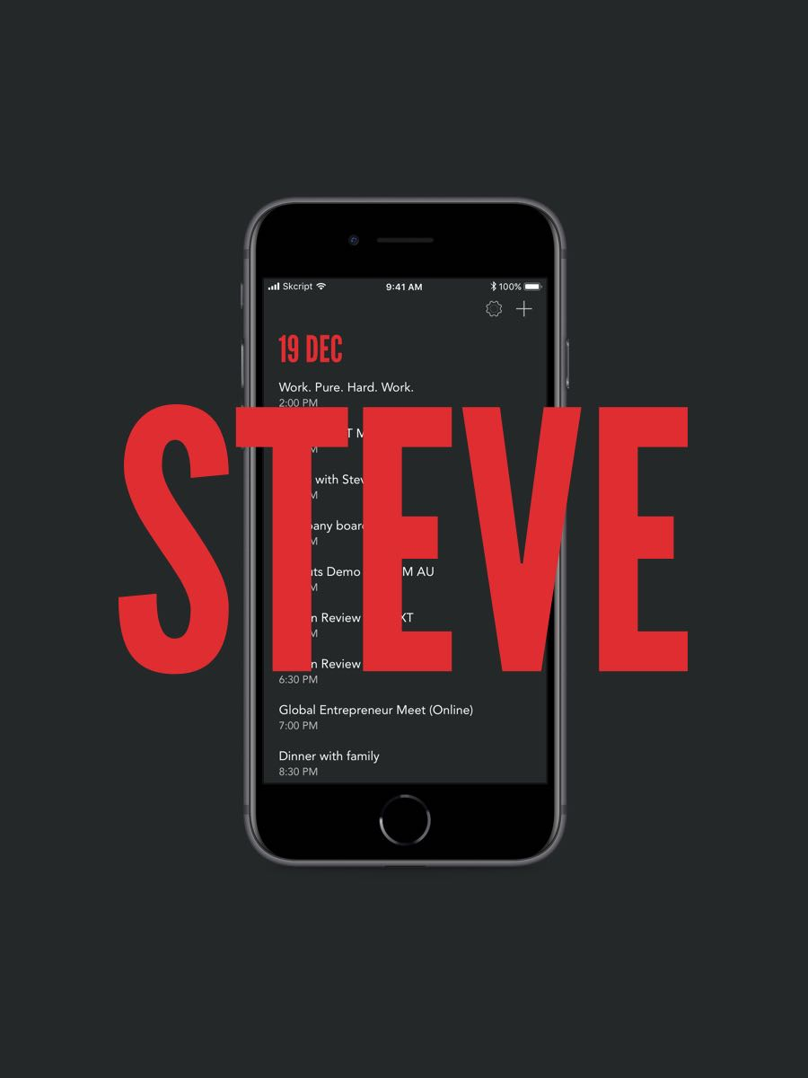 Steve for iOS