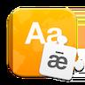 dictionaries logo + wordmark