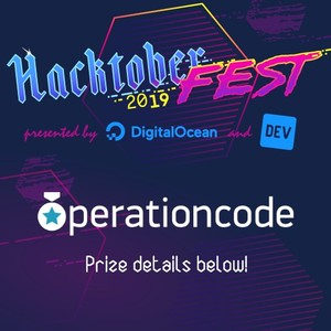 Operation Code swag you can get