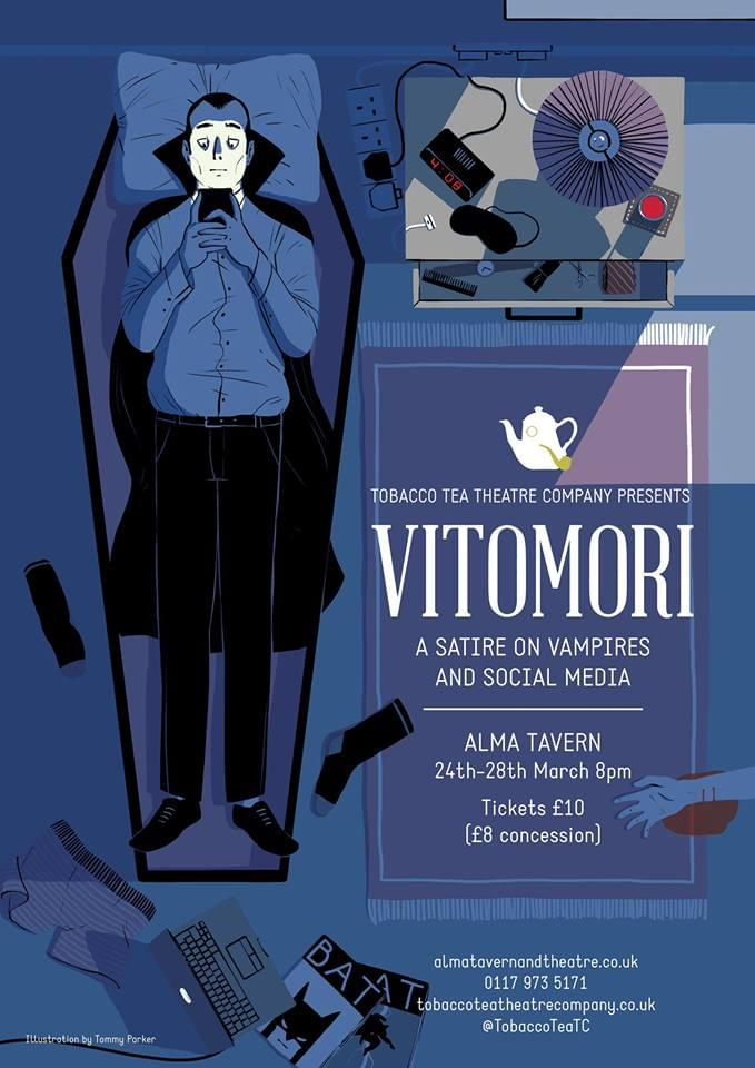 Poster for Vitomori, by Christopher Cutting