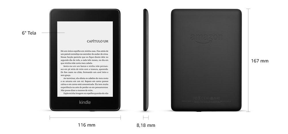 Foto do Kindle extraída do site da Amazon.com.br