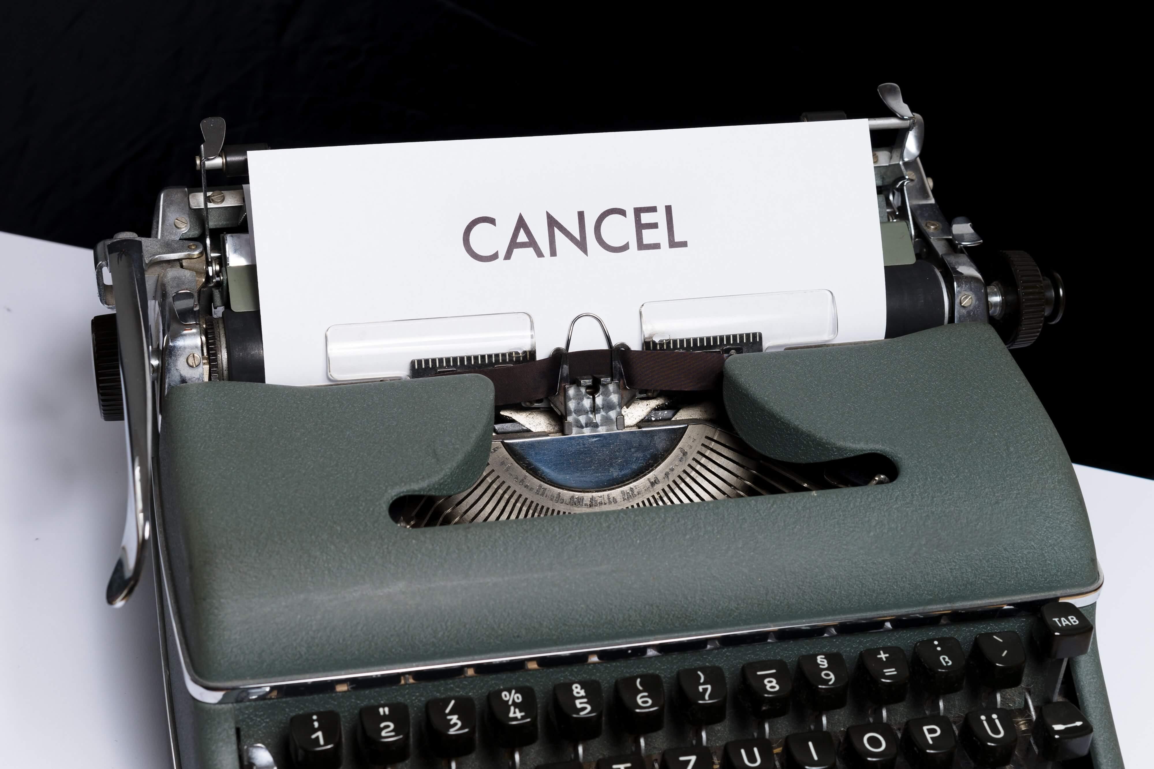 Direct Debit cancelation