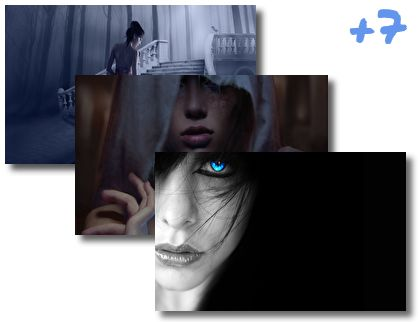 Mysterious Girl theme pack