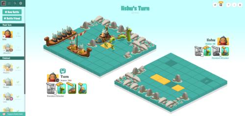 The current version of BattleTabs