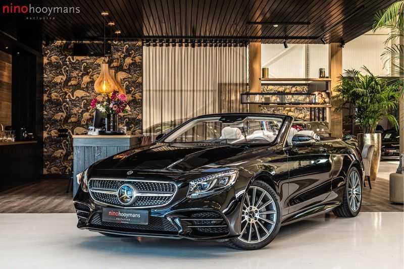 Mercedes-Benz S-Klasse Cabrio 560 | Swarovski | Burmester | 360 graden | Distronic | afbeelding 1