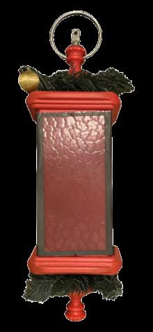 Yuletide Red Lantern photo