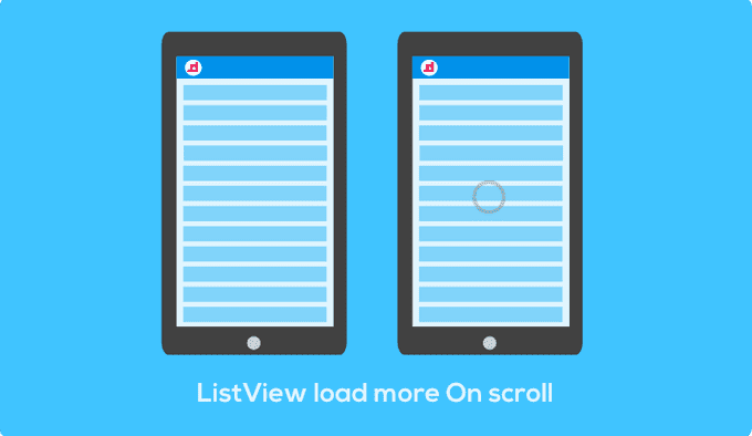 ListView - มาทำ Load More ตอน scroll เพื่อโหลดข้อมูลกันเถอะ