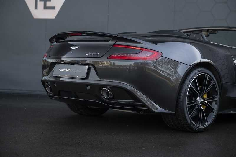 Aston Martin Vanquish Volante 6.0 V12 Touchtronic 2+2 1e eigenaar & NL Geleverd dealer onderhouden afbeelding 19